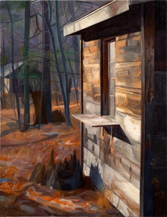 Fall, New York, Contemporary Landscape Painting, Oil on Linen, Woman Artist