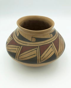 Pot with Red & Black Motif