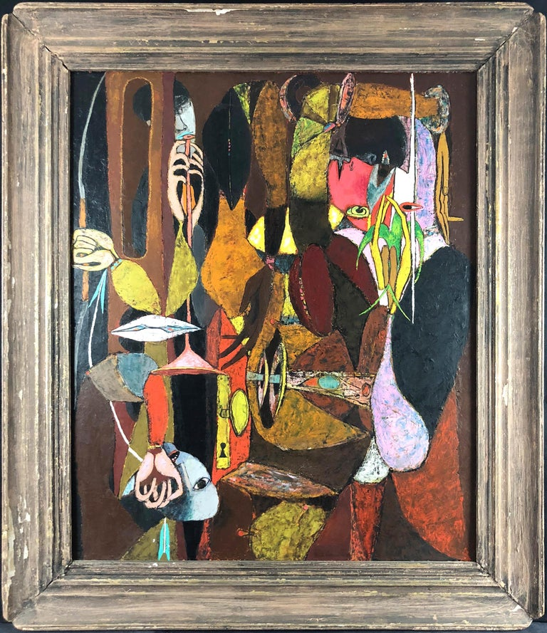 Frederick Conway Abstract Painting - Dreaming