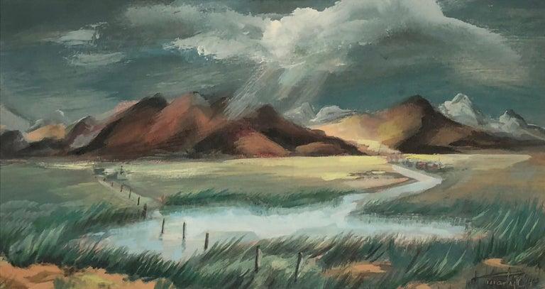 Western Slope - Art by Martyl Suzanne Schweig Langsdorf