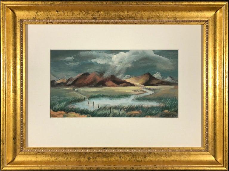 Martyl Suzanne Schweig Langsdorf Landscape Art - Western Slope
