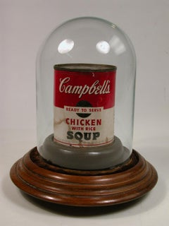 Vintage Signed Campbell's Soup Can from 1964 Bianchini Gallery Exhibition