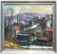 Yonkers, New York Industrial Scene