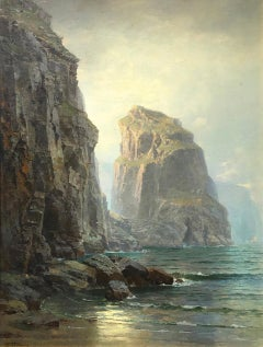 Cliffs at St. Columb, Cornwall