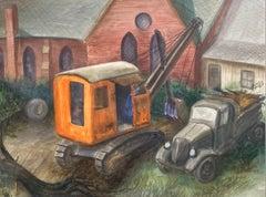 Plowing the Church Garden