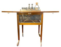 George III Style Mechanical Drinks and Smoking Cabinet (Converts to Table)