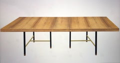 Harvey Probber Bleached Rosewood Mid Century Dining Table