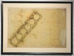 """Contemporary Print, """"Vocation/Avocation #4"""""""