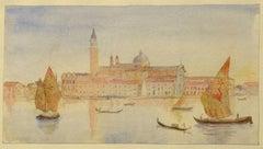 San Giorgio Maggiore from our Window, Venice