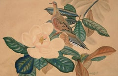 Mourning Dove, 1946, Ralph Ray, Jr, realist/modern, watercolor, gouache