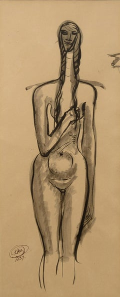 1930s Nude Drawings and Watercolours