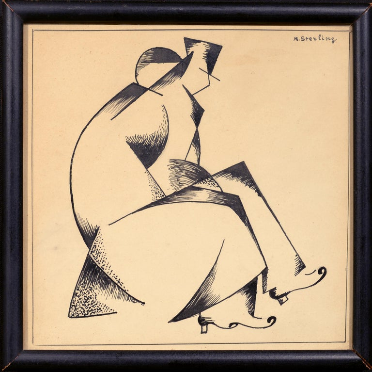Cubist Couple - Art by Marc Sterling