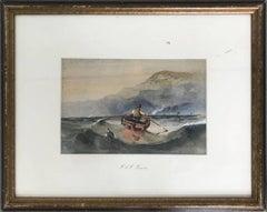 Untitled Seascape: Man At Sea
