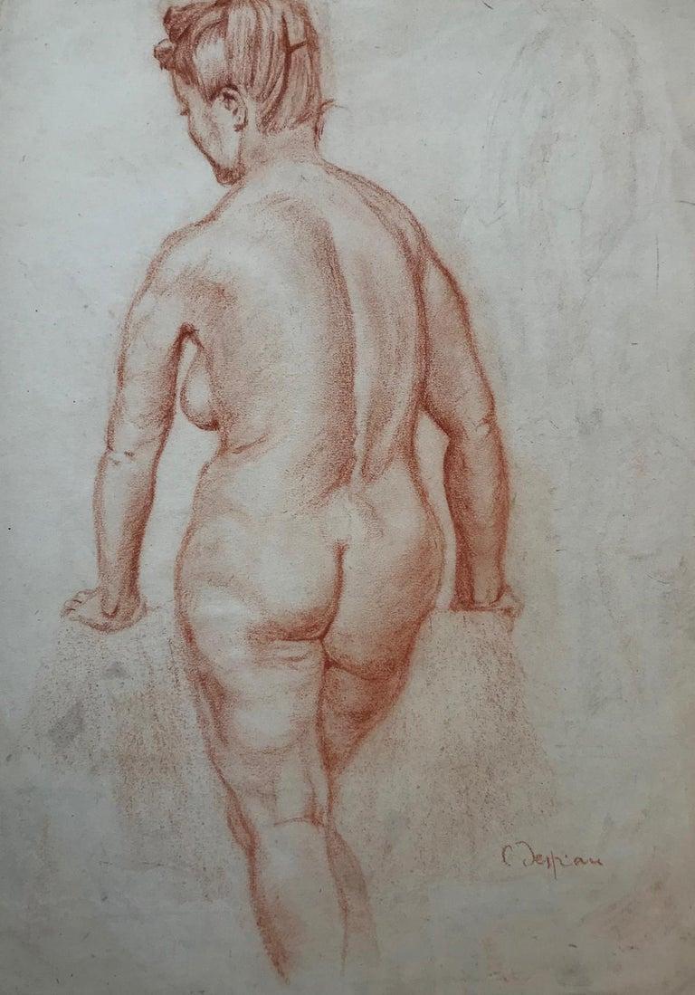 Charles Despiau Figurative Art - Female Nude