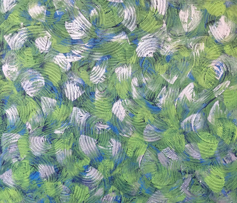 Elizabeth Salas Abstract Painting - Springtime in the Hamptons