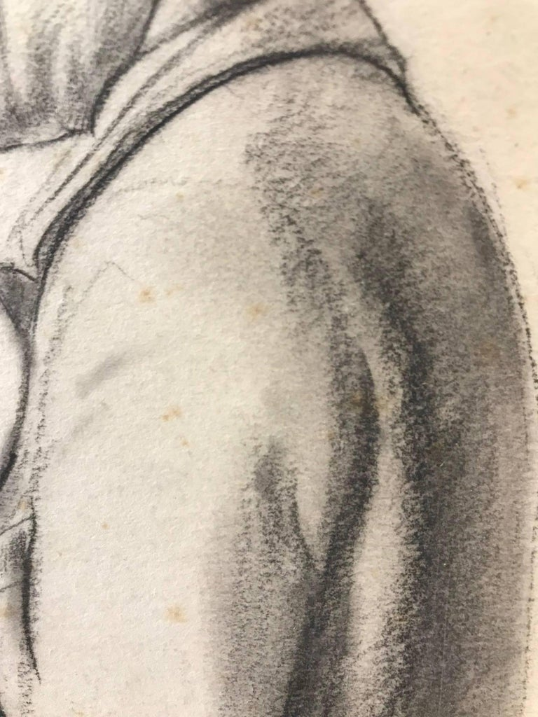 Untitled (Sideview of a Gentleman) - Academic Art by John Gilroy