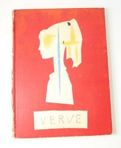 Verve 29/30,  Suite de 180 Dessins de Picasso. Nov. 28, 1953-Feb 3, 1954