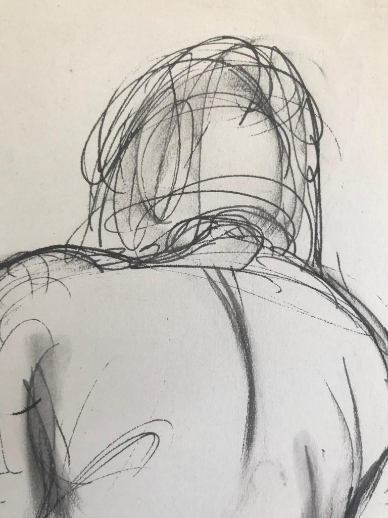 Untitled: Rearview Of a Seated Nude - Art by Henry Varnum Poor