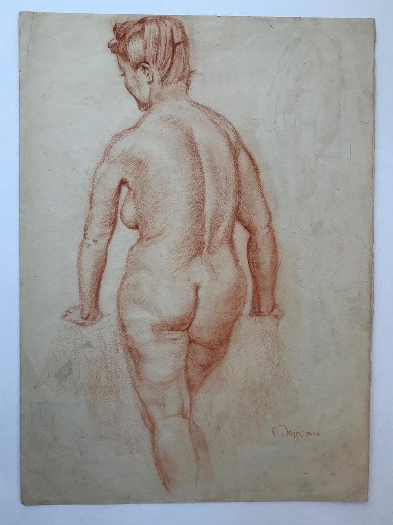 Female Nude - Art by Charles Despiau