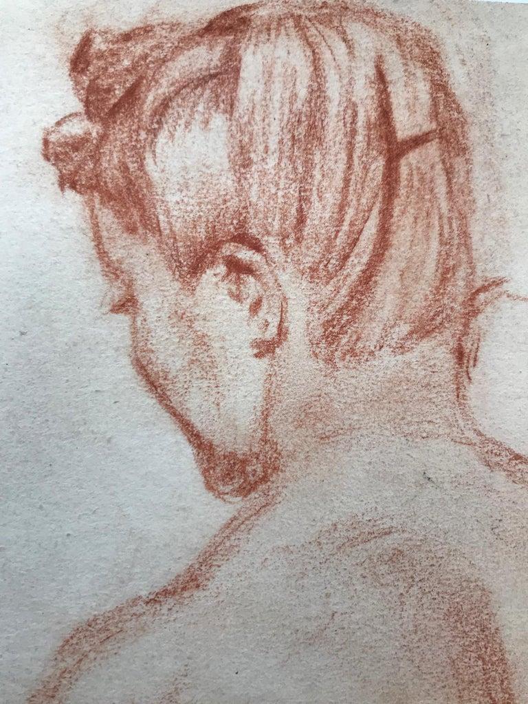 Female Nude - Impressionist Art by Charles Despiau