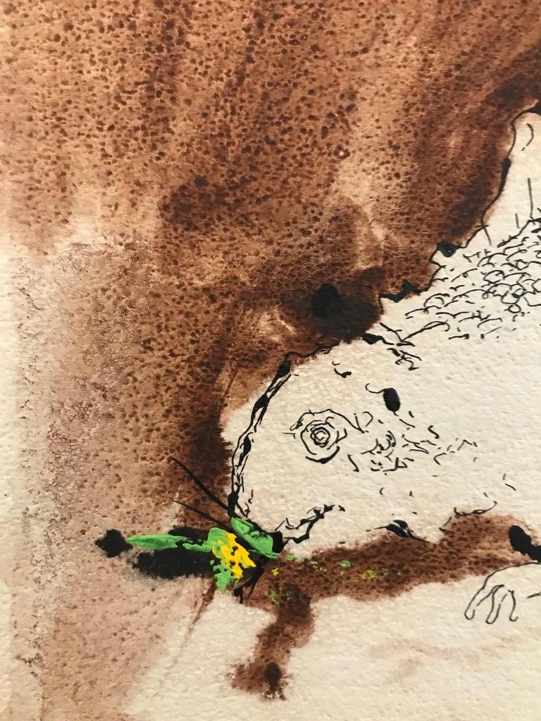 Untitled: Reptile - Abstract Art by Benjamin Mendoza