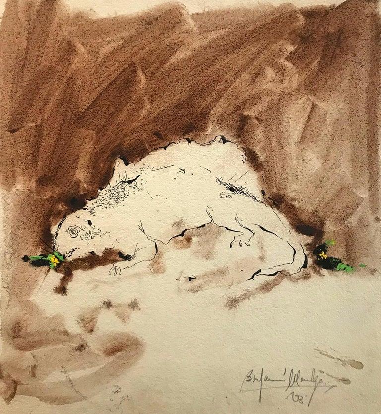 Benjamin Mendoza Animal Art - Untitled: Reptile