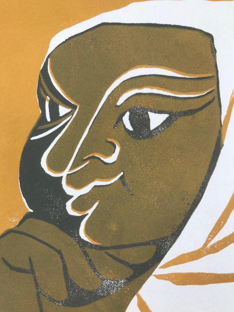 Goldy 1 (Edition 76/100) - Print by Tassow Brhanu