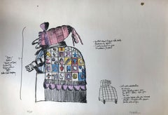 Judy: Edition 35/65 (From Punch & Judy, Seven Hand Colored Lithographs)