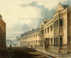 Harrow School Aquatints from History of Harrow School 1816 (after Fred McKenzie)