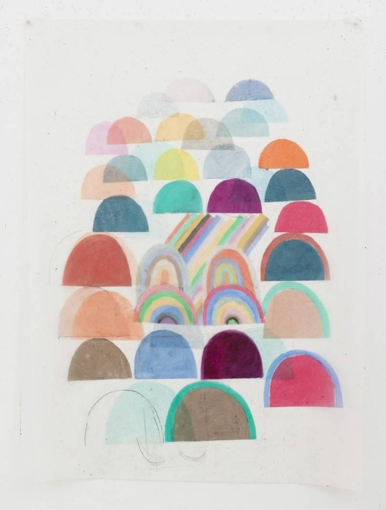Vicki Sher Abstract Drawing - Mountain