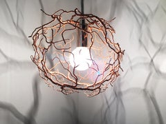 Heartbeat Light in Copper//Sculpture