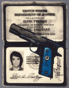 Object of Authority, (Elvis's Federal Narcotics Badge and Pistol)