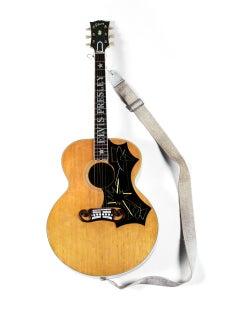 Elvis's Gibson J-200 Guitar