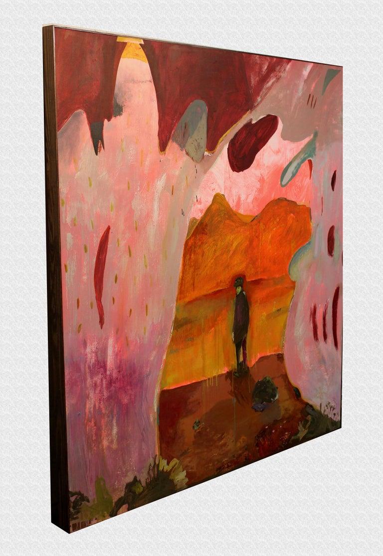 Joshua Tree Dreaming - Painting by John Paul Kesling