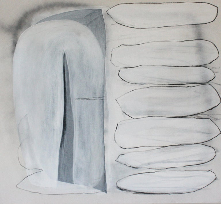 Lindsy Davis  Abstract Painting - Seven Suitors