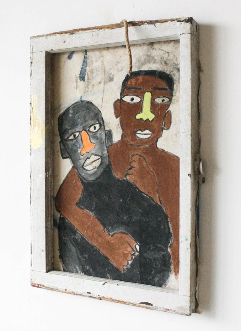 Tongues Untied (RIP Marlan Riggs) - Painting by Marlos E'van