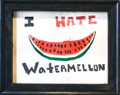 Little Known Fact About Me (I Hate Watermelon)