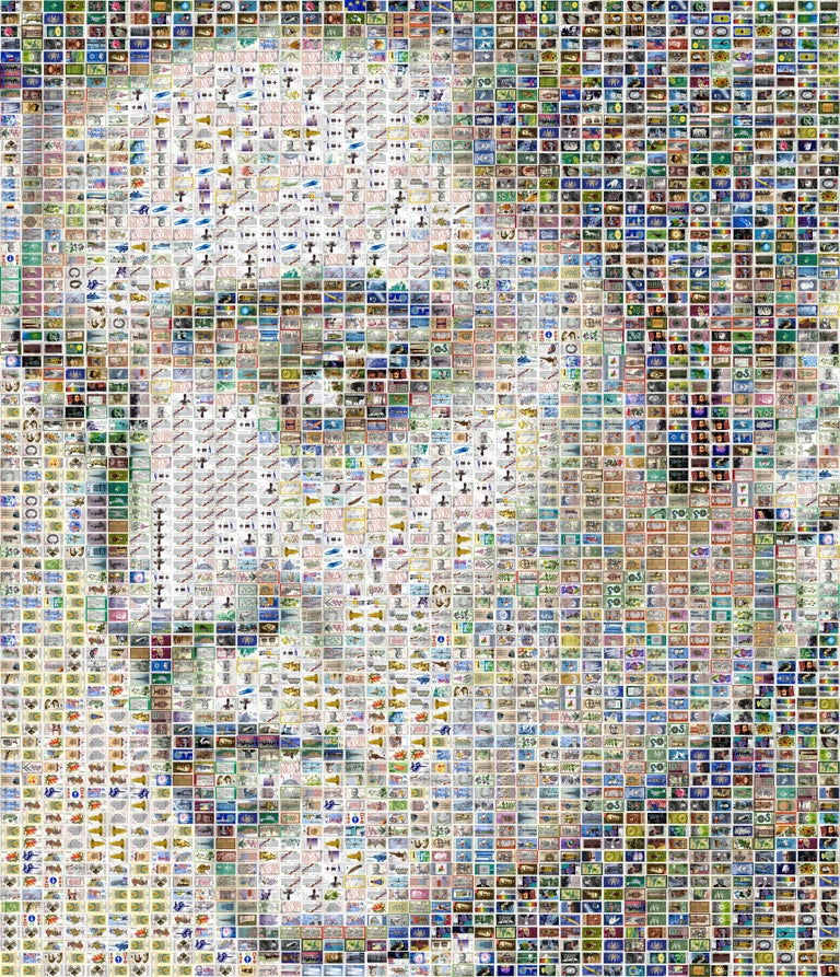 Elvis Presley - Unique piece - Mixed Media Art by Daniel Voelker