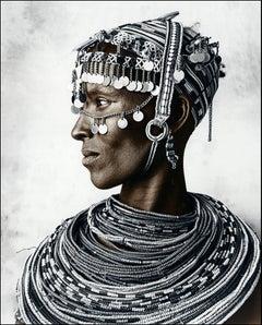 Azizi, Rendille, Ethiopia, Silver Gelatine, Photography, Contemporary