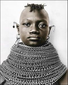 Raila (13), Turkana, Kenya, Silver Gelatine, Photography, Contemporary