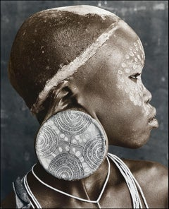 Nale (18), Suri, Ethiopia, Silver Gelatine, Photography, Contemporary