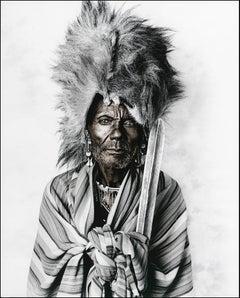 Leboo (52), Massai, Kenya Silver Gelatine, Photography, Contemporary