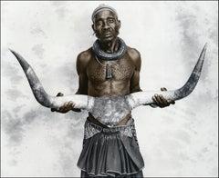 Mukangumbi, Himba, Namibia, Silver Gelatine, Photography, Contemporary