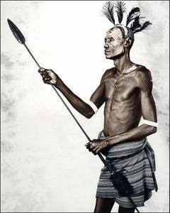 Ekri (41), Kara, Ethiopia, Silver Gelatine, Photography, Contemporary