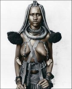 Hembinda (19), Himba, Namibia, Silver Gelatine, Photography, Contemporary