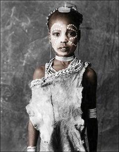 Alitash (9), Hamer, Ethiopia, Silver Gelatine, Photography, Contemporary