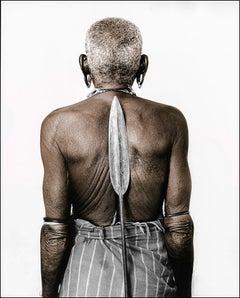 Namesek (50) Turkana, Kenya, Silver Gelatine, Photography, Contemporary