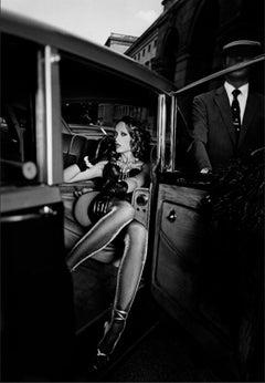 Extravagant Angel, Paris 2000, Black and white Photography, 21st Century