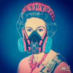 God save the Queen, Painting, Pop Art, Street Art