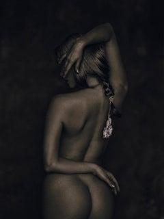 Nu de dos II, Nude, woman, contemporary photography